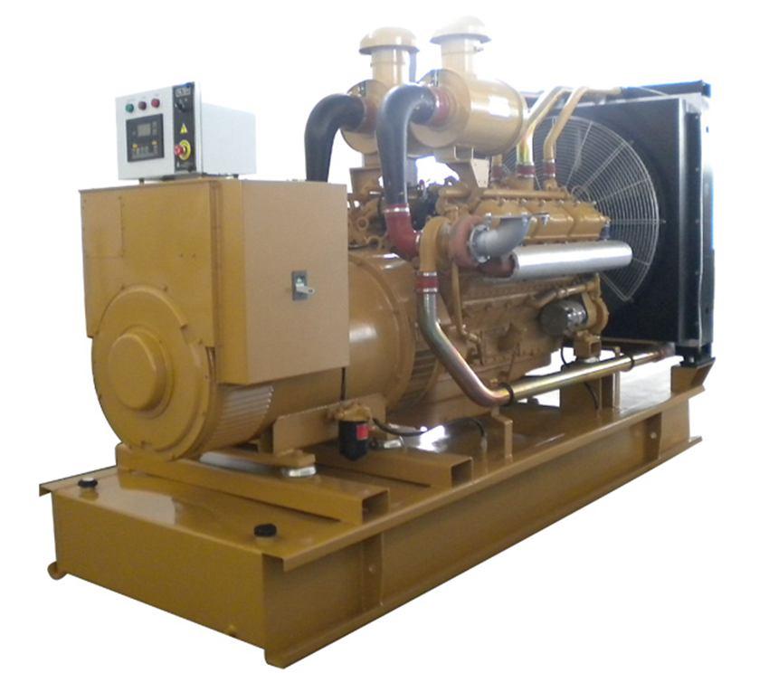 200KW上柴发电机组成完成出厂检测,发往山东